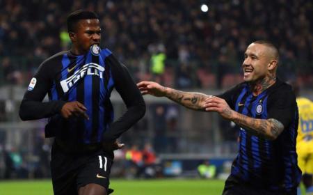 Keita esultanza vs Frosinone Foto Inter Twitter