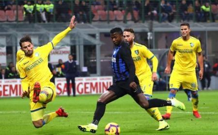 Keita vs Frosinone Foto Inter Twitter