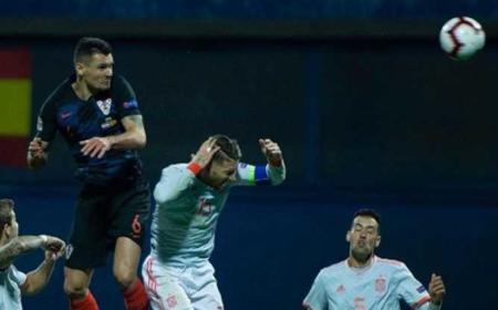 Lovren Croazia vs Spagna Instagram Personale