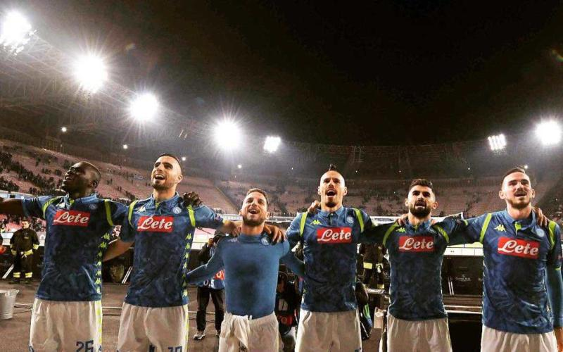 Maksimovic gruppo Napoli Twitter