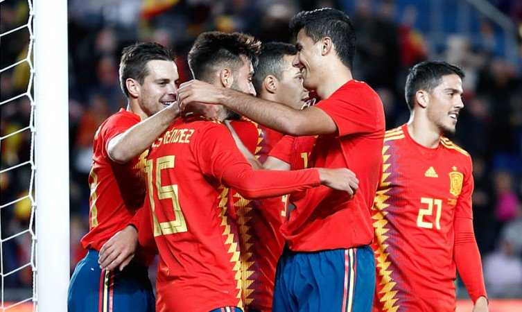 Mendez Spagna vs Bosnia Foto Spagna Twitter