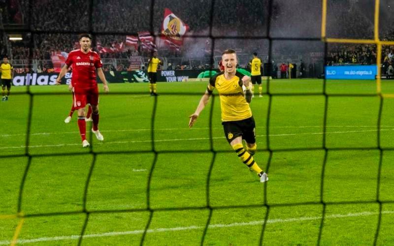 Reus vs Bayern Foto Borussia Dortmund Twitter