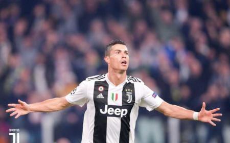 Ronaldo Twitter ufficiale Juve