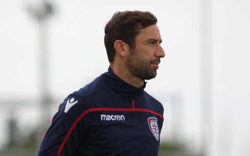 Srna training Cagliari Twitter