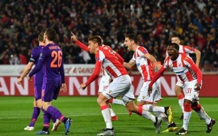 Stellla Rossa vs Liverpool Foto Champions League Twitter