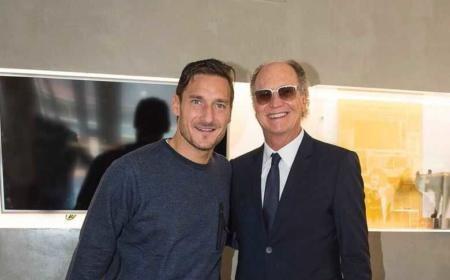Totti+Falcao Twitter Totti