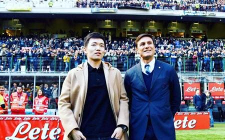 Zhang + Zanetti Twitter personale Zanetti
