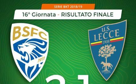 Brescia Lecce 2-1