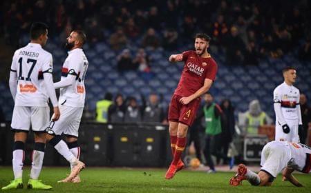 Cristante vs Genoa Foto Roma Twitter