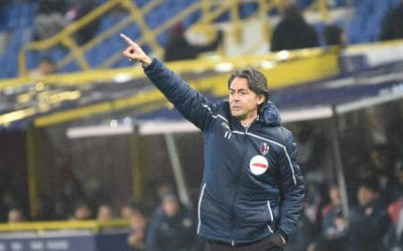 Inzaghi Pippo panchina Bologna Twitter