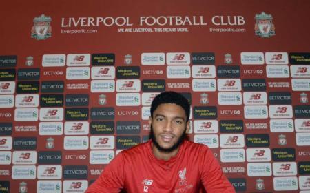 Joe Gomez Twitter uff Liverpool