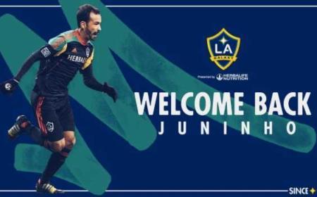 Juninho LA Galaxy Twitter