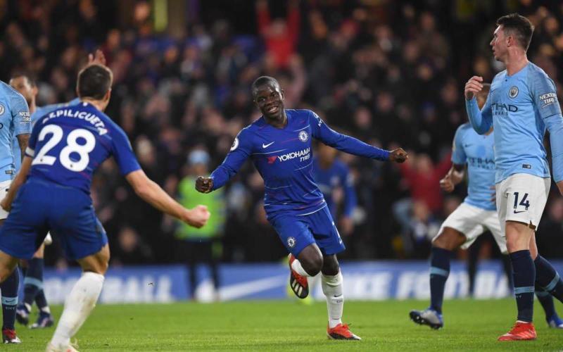 Kanté vs City Foto Chelsea Twitter