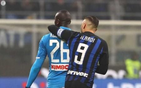 Koulibaly Icardi Twitter Inter