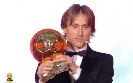 Modric Pallone d'Oro Foto France Football