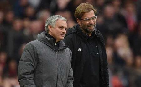 Mourinho e Klopp Foto Daily Star