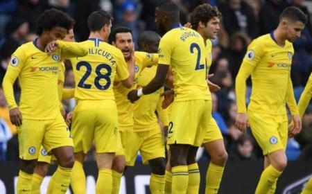 Pedro esultanza vs Brighton Foto Chelsea Twitter