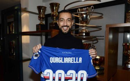 Quagliarella rinnovo Sampdoria Twitter
