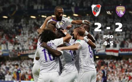River Al-Ain 2-2 Foto Fifa Twitter