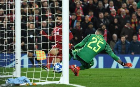 Salah gol vs Napoli Foto Liverpool Twitter