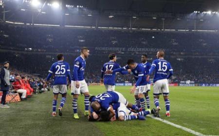 Schalke gol vs Lokomotiv Mosca Foto Schalke Twitter