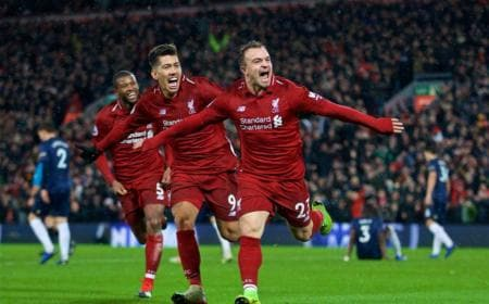 Shaqiri vs United Foto Liverpool Twitter