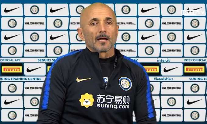Spalletti conferenza pre Napoli Inter Twitter