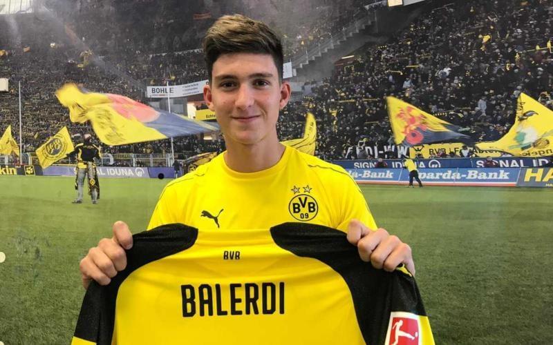 Balerdi annuncio Borussia Dortmund