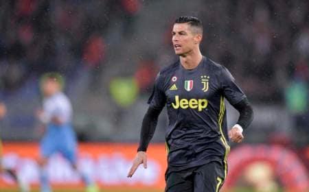 Cristiano Ronaldo vs Lazio Foto Juventus Twitter