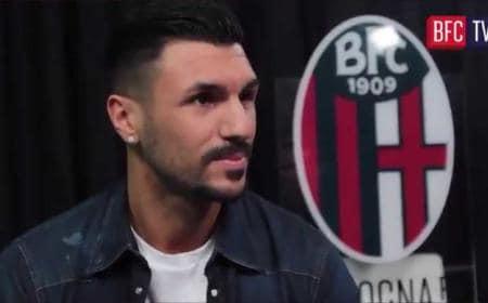 Roberto Soriano screenshot Twitter Bologna