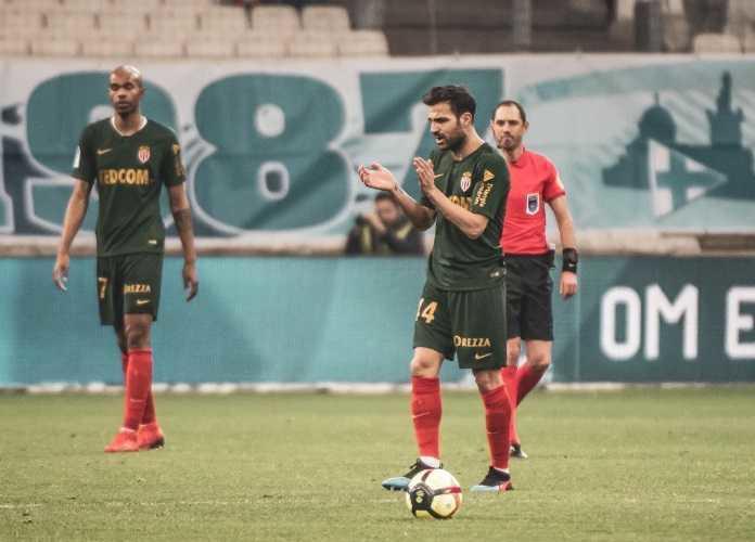 Fabregas debutto vs Marsiglia Foto Monaco Twitter