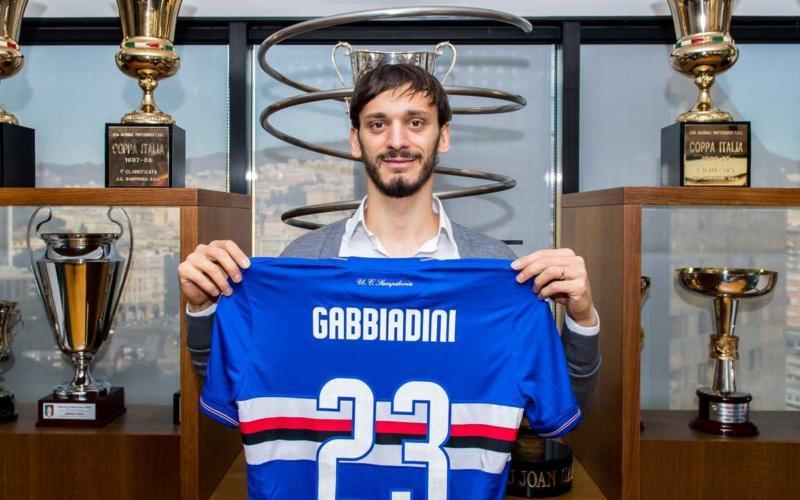 Gabbiadini Twitter uff Samp