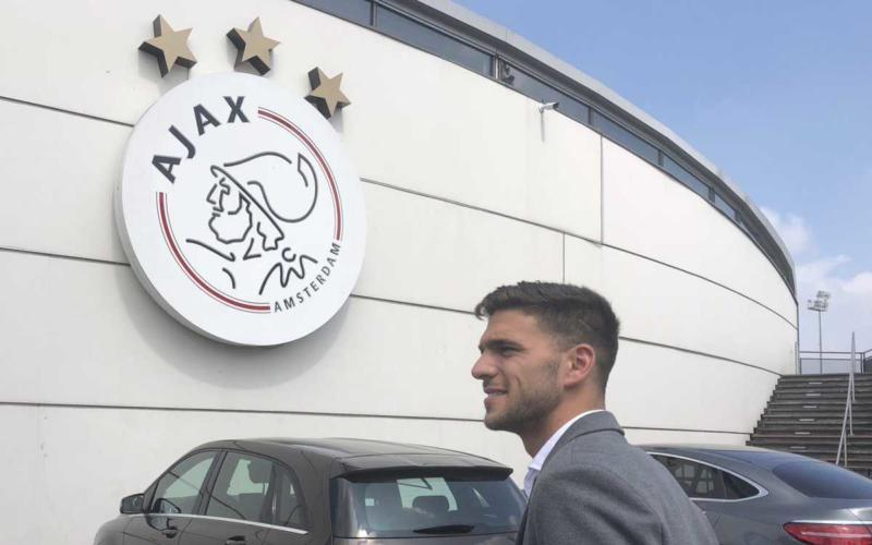 Magallan arrivo Ajax Twitter