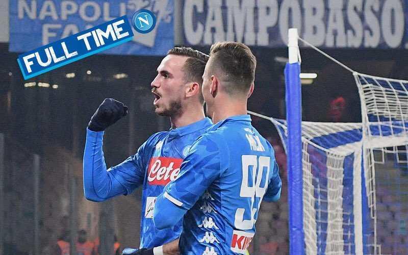Milik e Ruiz vs Sassuolo