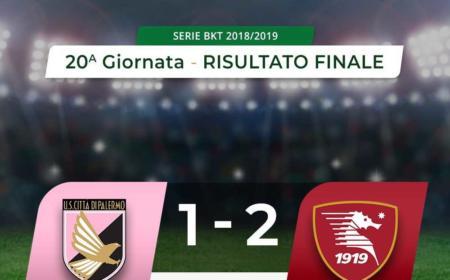 Palermo Salernitana 1-2