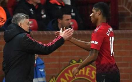 Solskjaer e Rashford Foto Football365