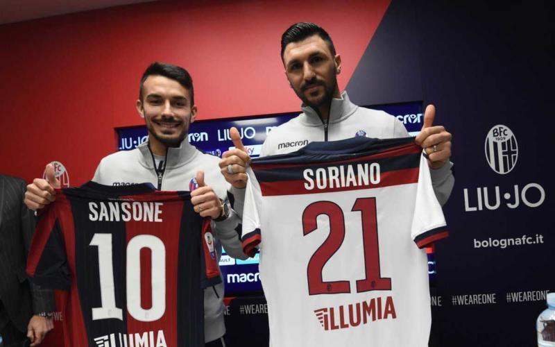 Soriano e Sansone presentazione Bologna Twitter
