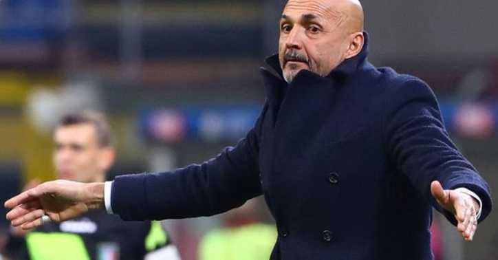 Spalletti panchina vs Benevento Foto Inter Twitter