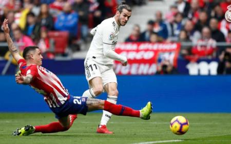Bale vs Atetico Foto Real Madrid Twitter