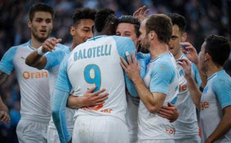 Balotelli gruppo Marsiglia Twitter