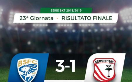 Brescia Carpi 3-1