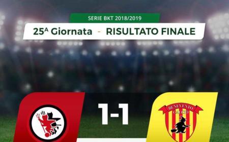 Foggia Benevento 1-1
