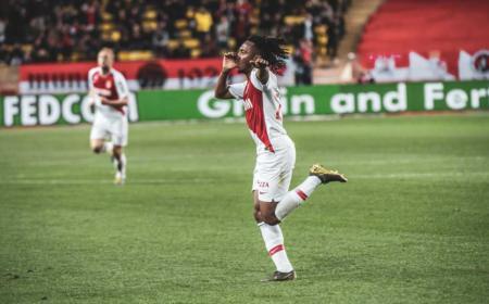 Gelson Martins Twitter uff Monaco