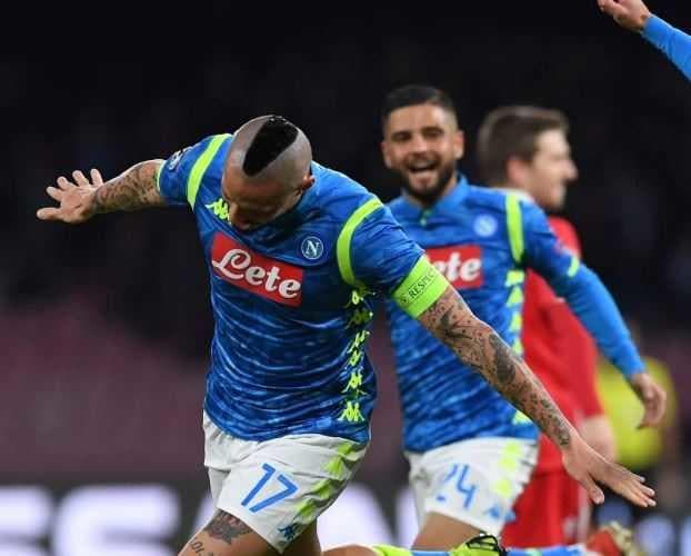 Hamsik + Insigne Twitter personale Insigne