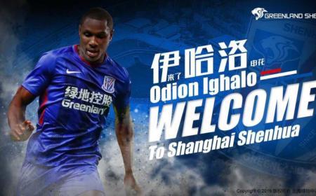 Ighalo annuncio Shanghai Shenhua