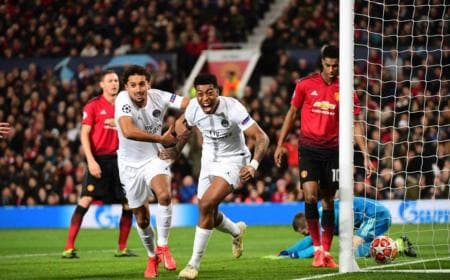 Kimpembe vs United Foto Champions League Twitter