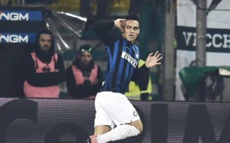 Lautaro Martinez vs Parma Foto Inter Twitter
