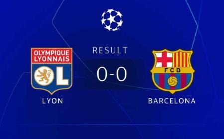 Lione Barcellona 0-0