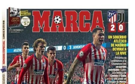 Marca Atletico Juve