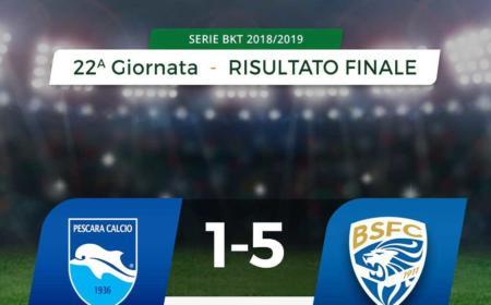 Pescara Brescia 1-5